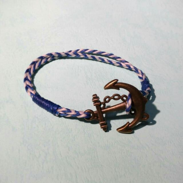 手作蠟繩手環