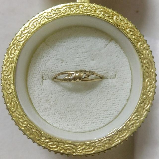 特賣-日本製 K18黃K金戒指 18K