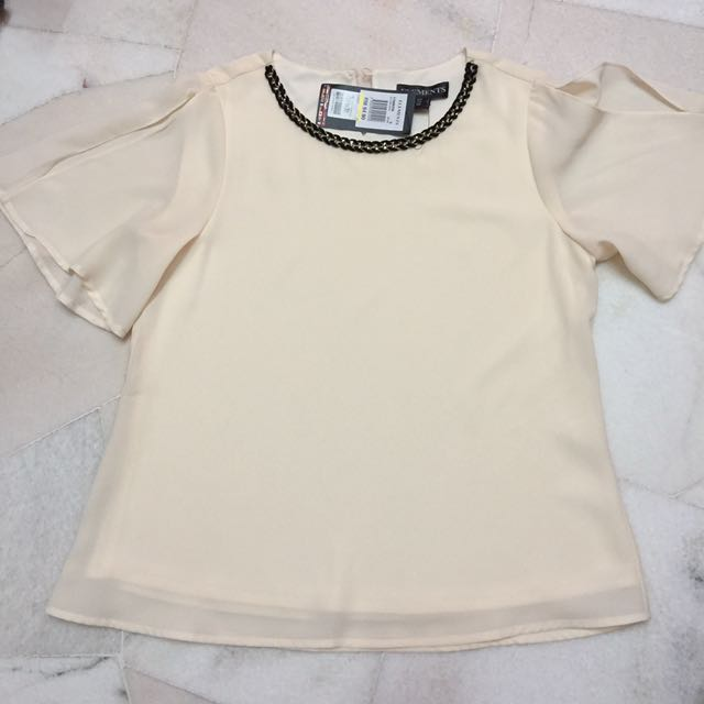 🆕 Korean Style Elegant Blouse Top