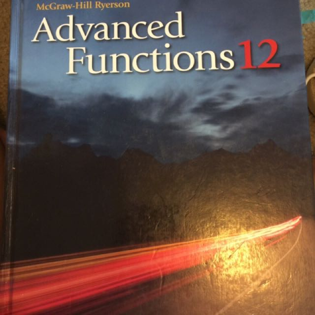 Advance Functions And Biology Textbooks