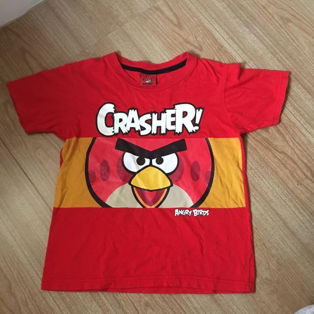 Angry Bird Shirt And Shorts