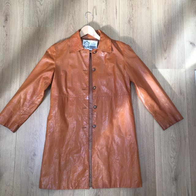 Authentic Leather Coat