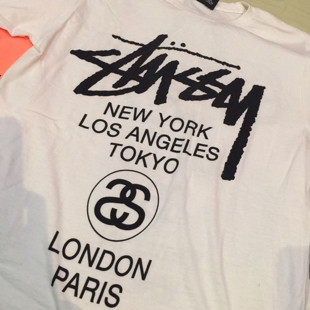 Authentic Stussy T-Shirt sz S (used by me)