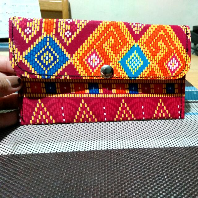 Batik Wallet from Davao (small)