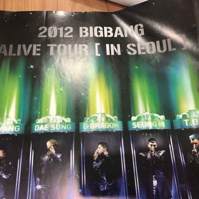 Big Bang Alive Concert Poster