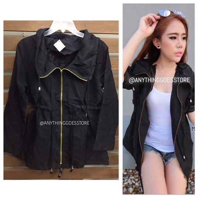 Black Lightweight Jacket/Parka