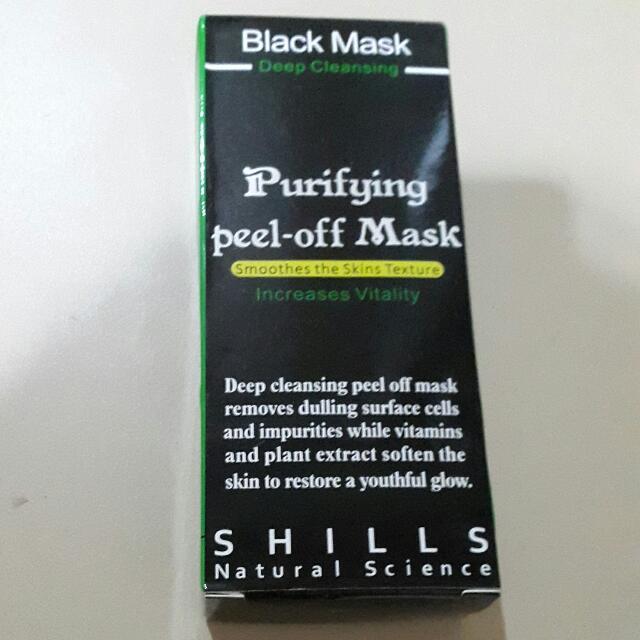 BLACK MASK (Peel-off Mask) SHILLS