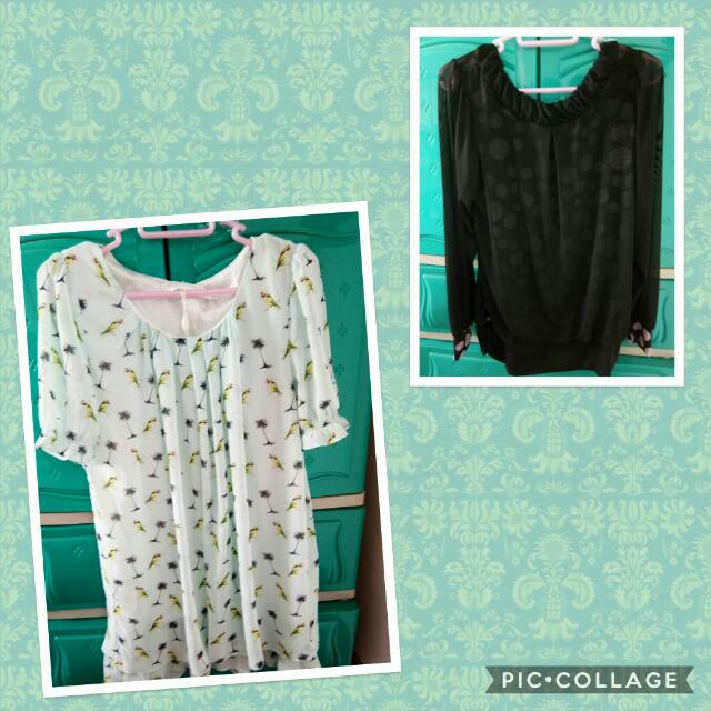(repriced) blouse top bundle
