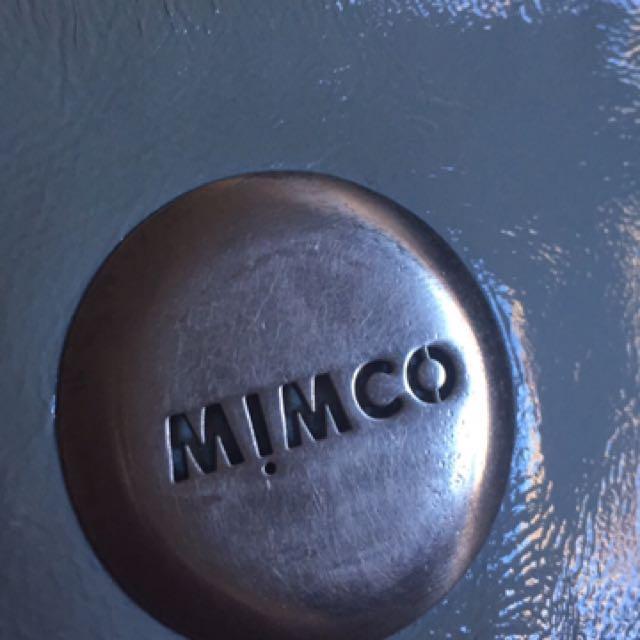 Blue Mimco Pouch