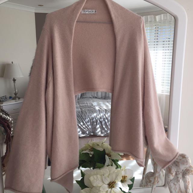 Blush Top shop Knit