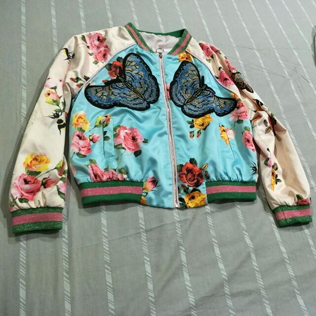 Bomber Jacket Gucci Style Size L