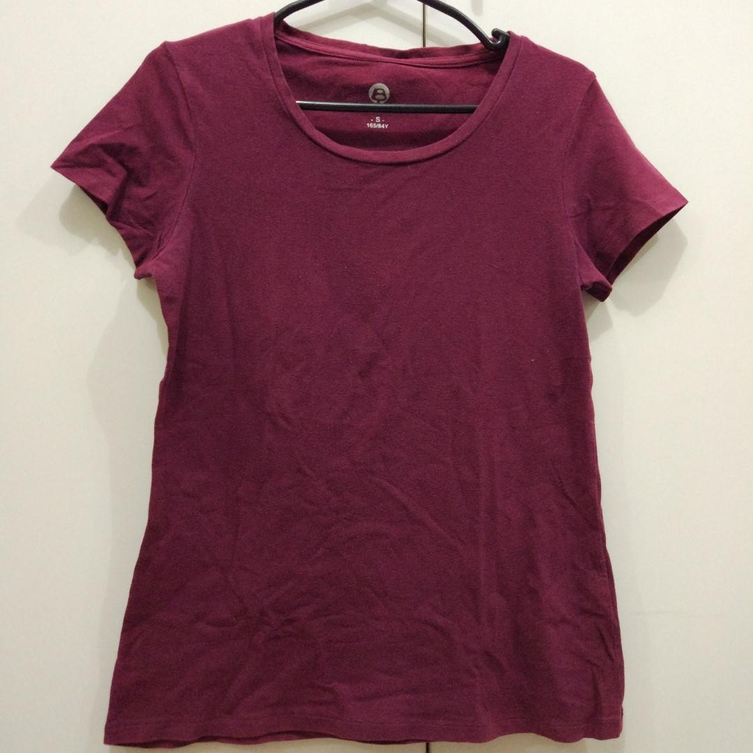 Bossini Maroon Shirt