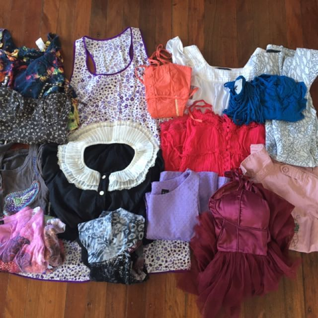 Bulk Lot 15 Items Of Women's Clothing - Angel Biba, Suprê, Just Jeans