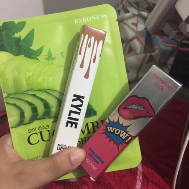 Bunddle 2lipsticks With Facemask