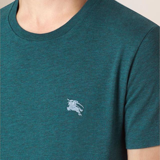 b7717e738 Burberry Liquid-soft Cotton T-shirt, Men's Fashion, Clothes on Carousell