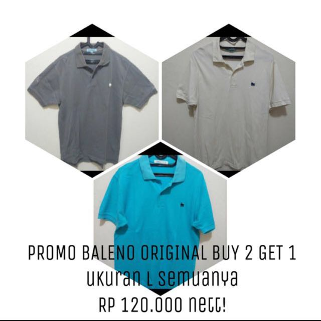 BUY 2 GET 1 BALENO UK L