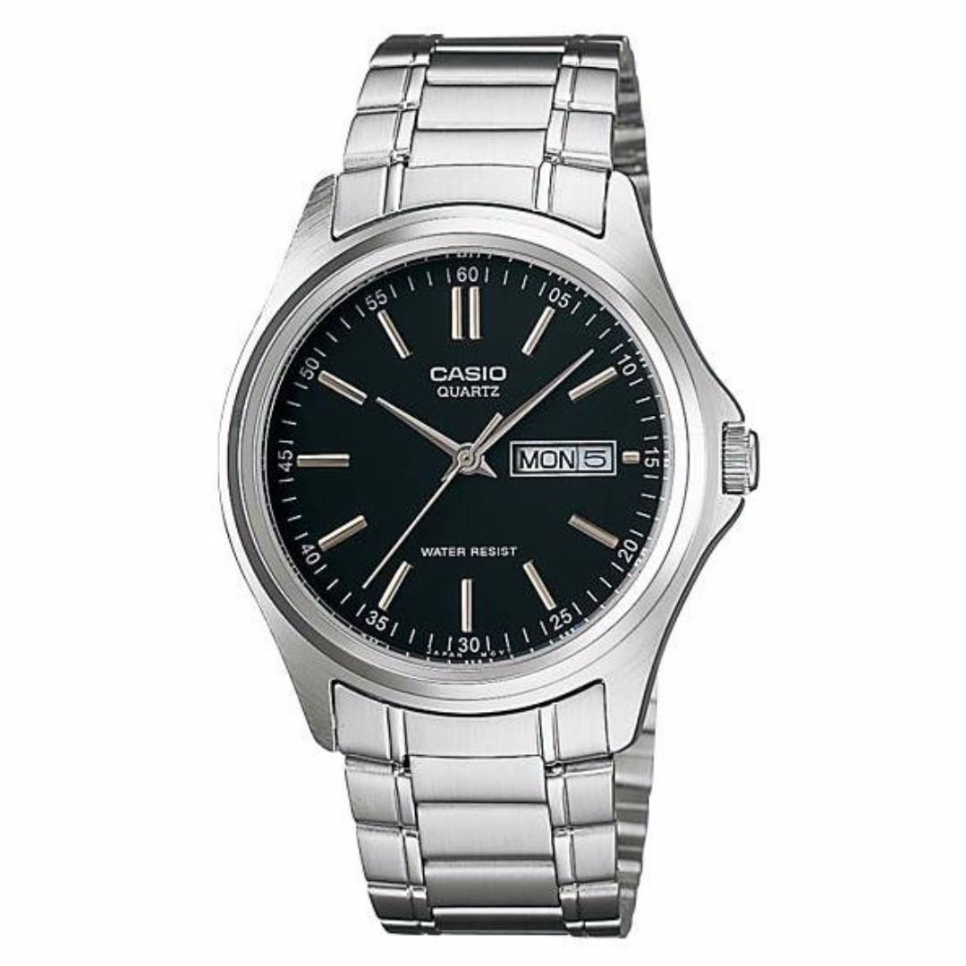 Casio MTP-1239D-1ADF Men's Watch Silver Strap