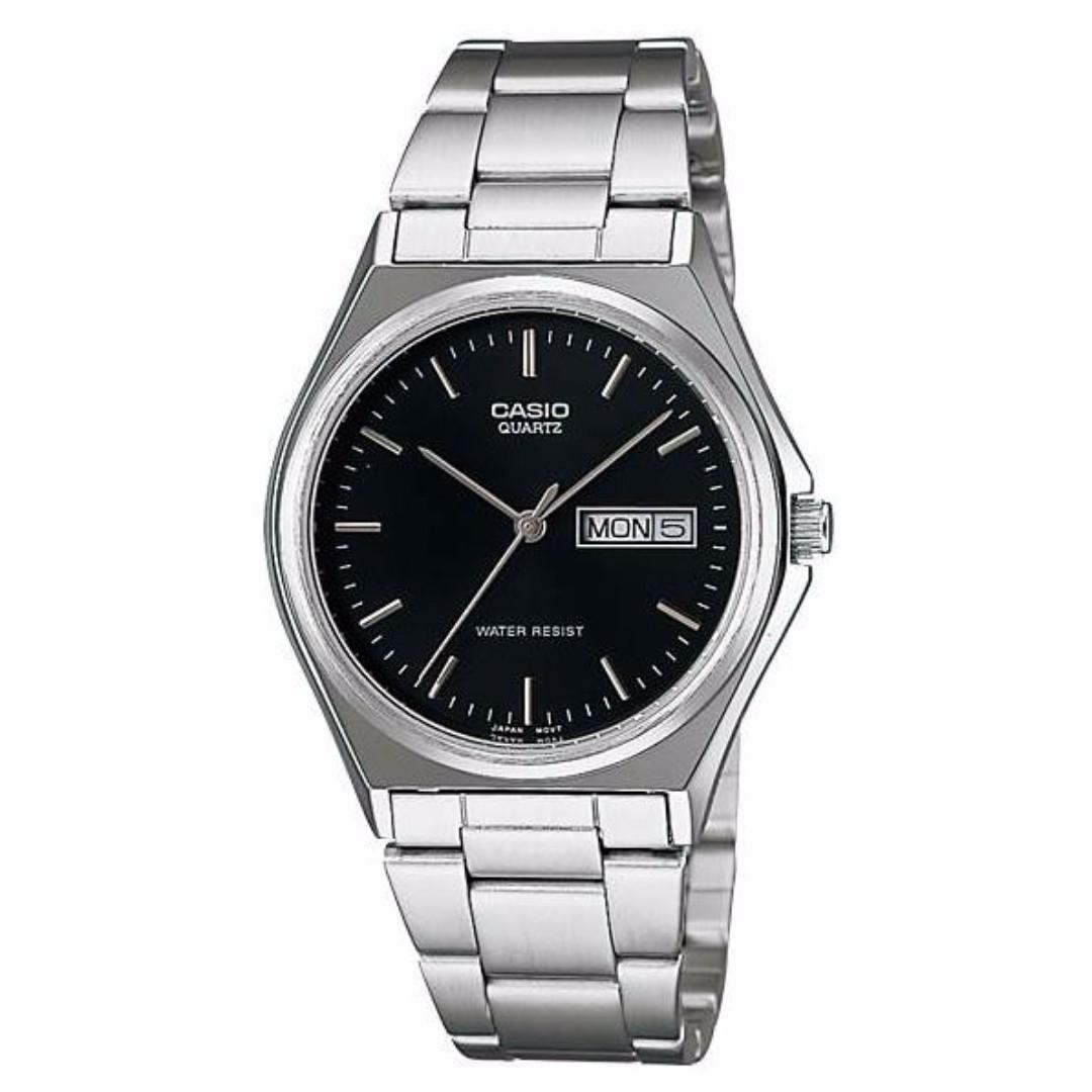 Casio MTP-1240D-1ADF Men's Watch Silver Strap