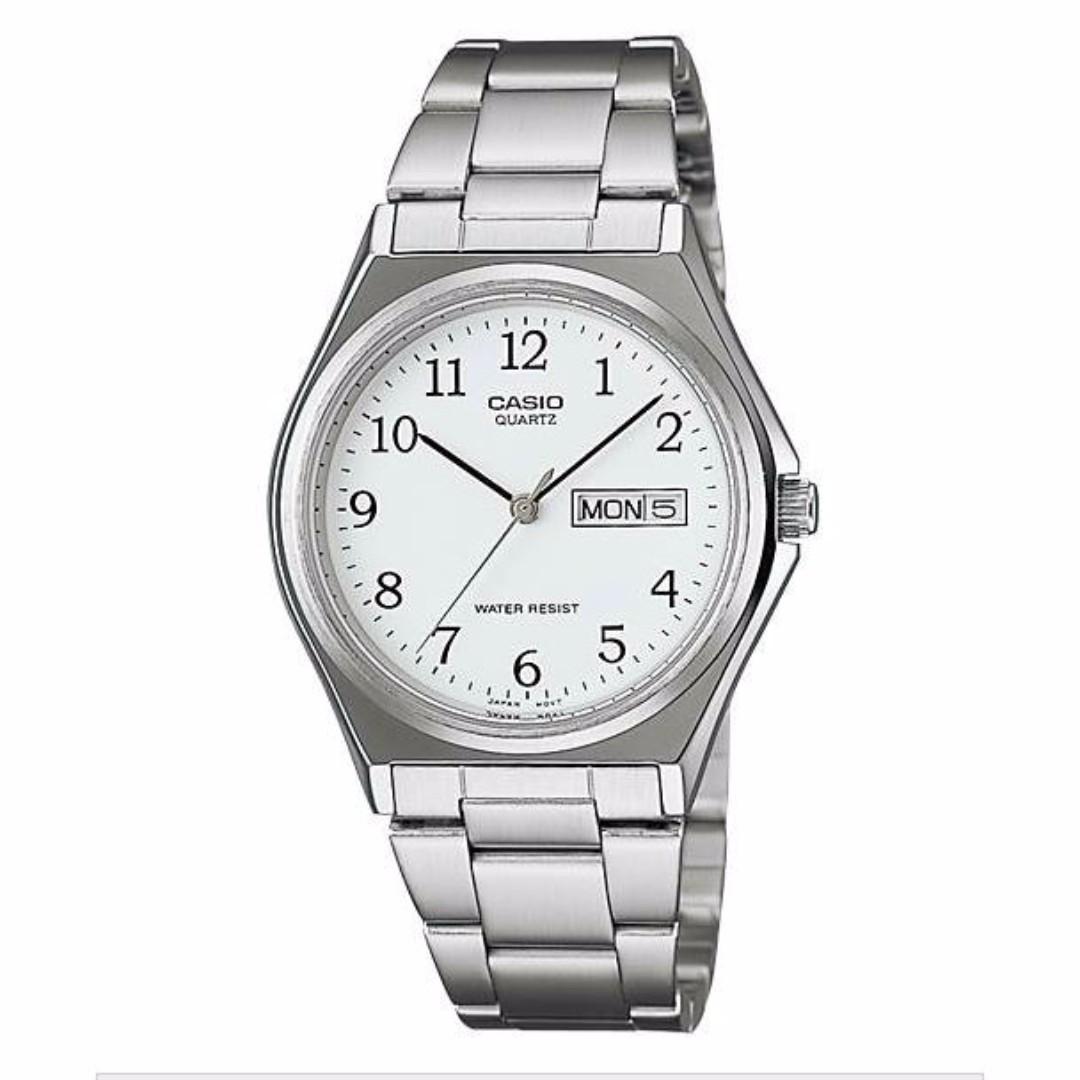 Casio MTP-1240D-7BDF Men's Watch Silver Strap