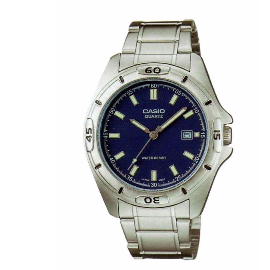 Casio MTP-1244D-2ADF Men's Watch Silver Strap