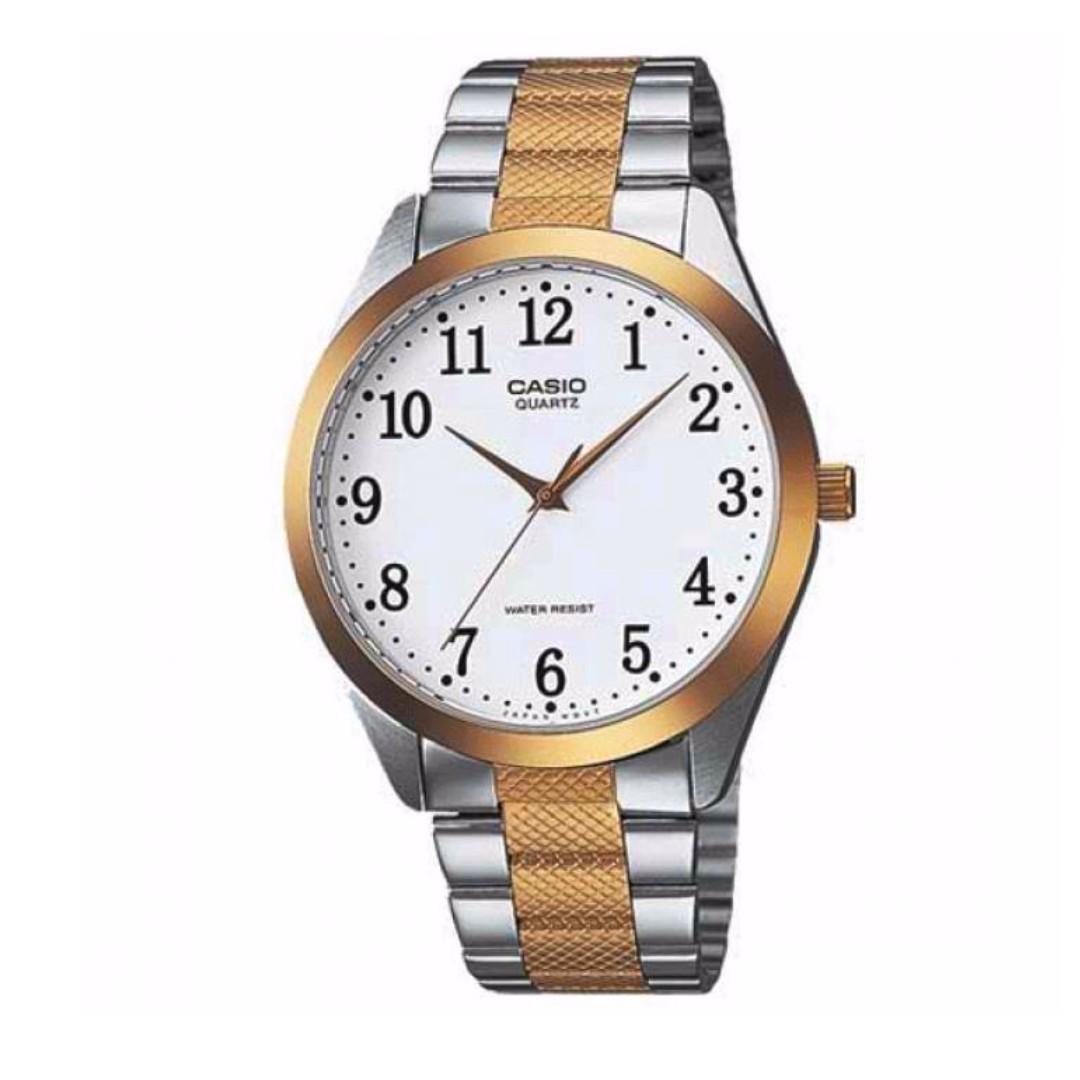 Casio MTP-1274SG-7BDF Men's Watch Silver Strap
