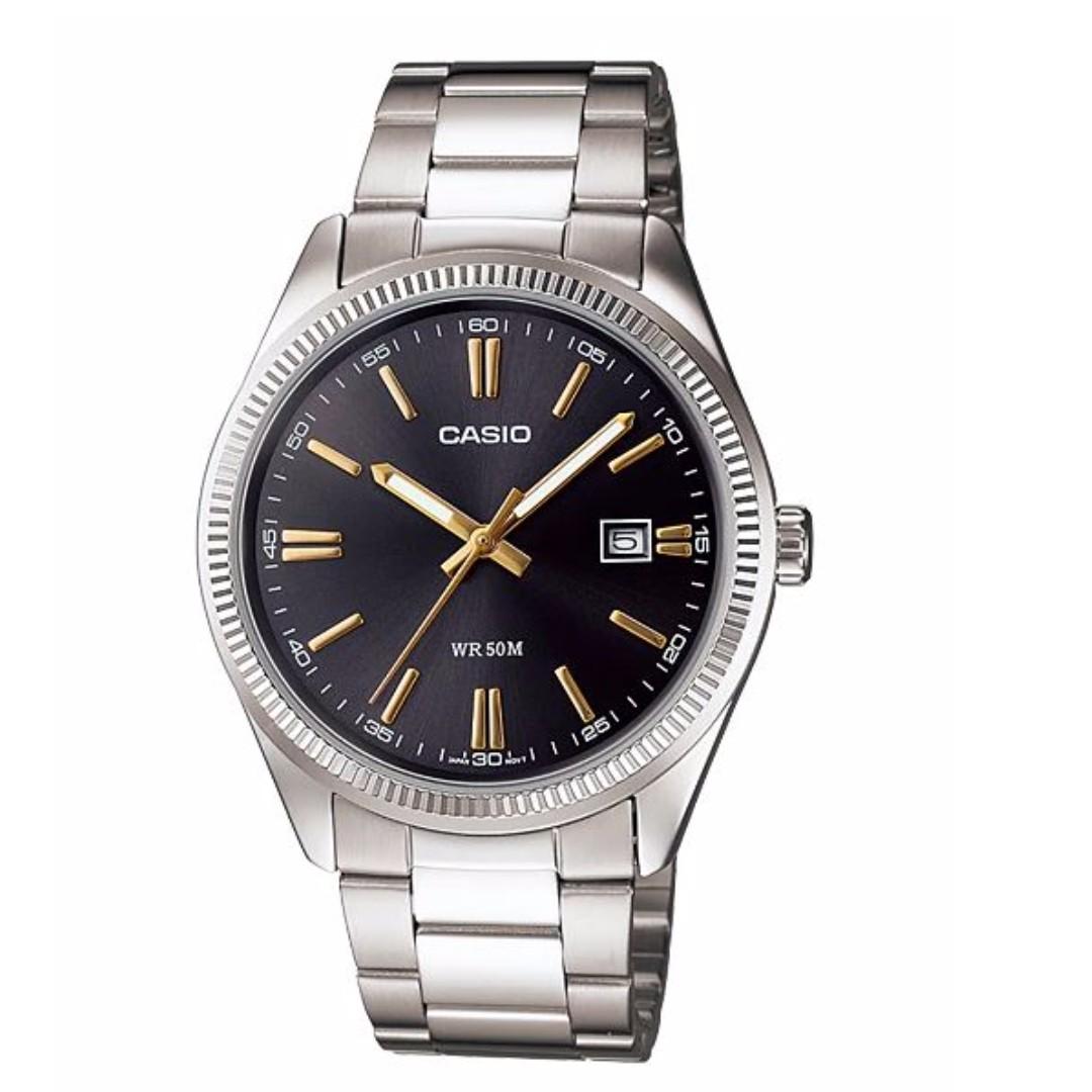 Casio MTP-1302D-1A2VDF Men's Watch Silver Strap