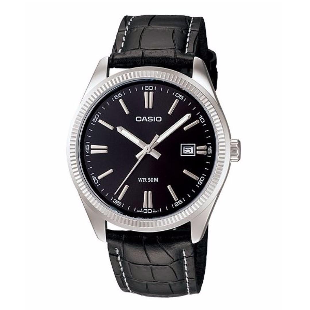 Casio MTP-1302L-1AVDF Men's Watch Silver Strap