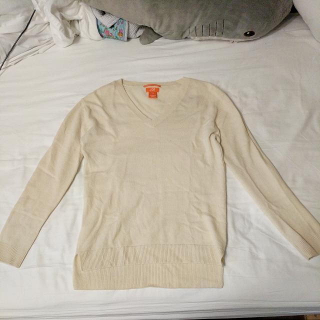 Cream-colored Cashmere Shirt