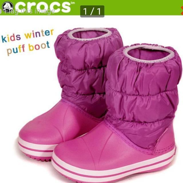 8f85bf255a5db Crocs Winter Puff Boot