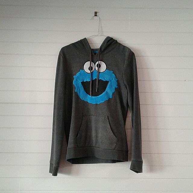 Cute Cookie Monster Hooodie