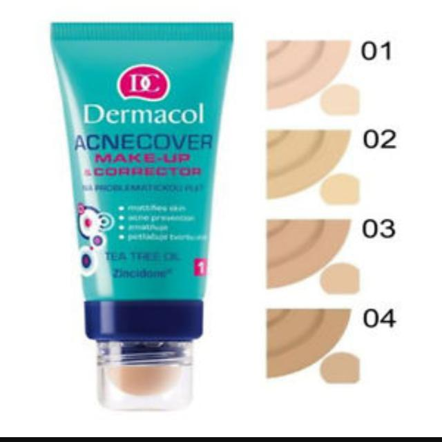 Dermacol Acne Cover Foundation With Tea Tree Oil
