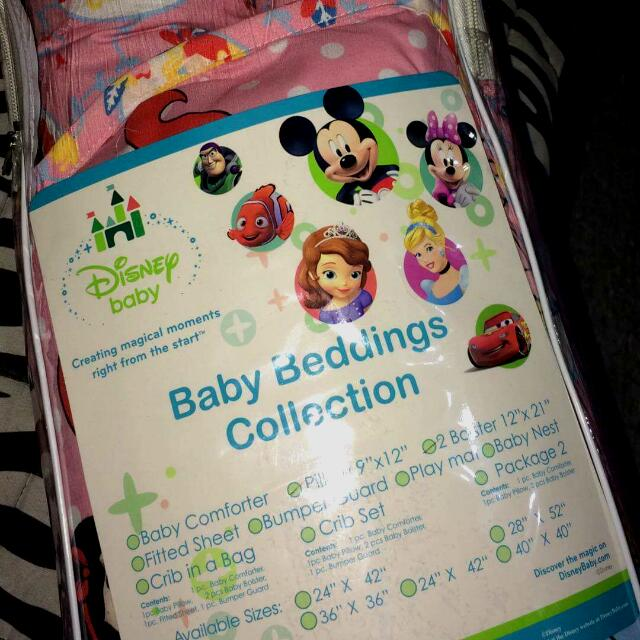 Disney Pillow& Boster Set