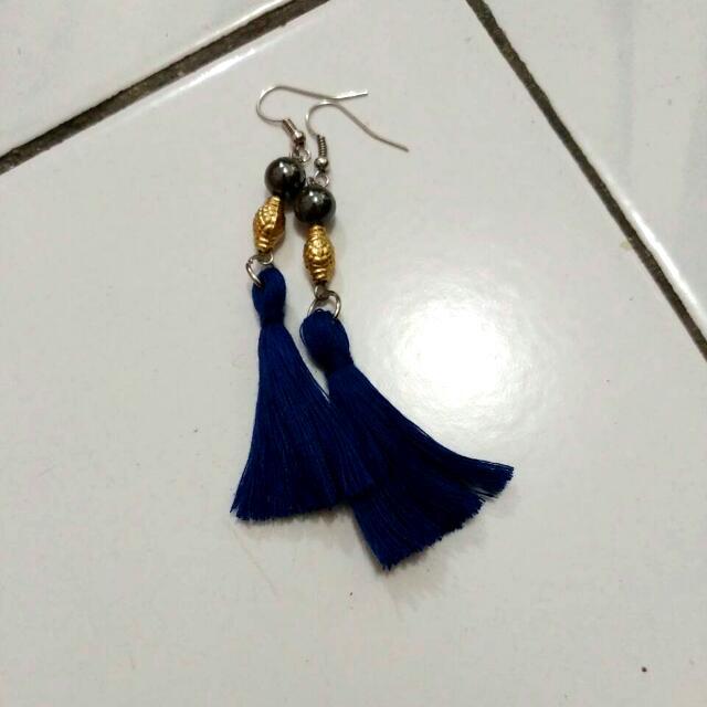 Ethnic Tassel Earrings