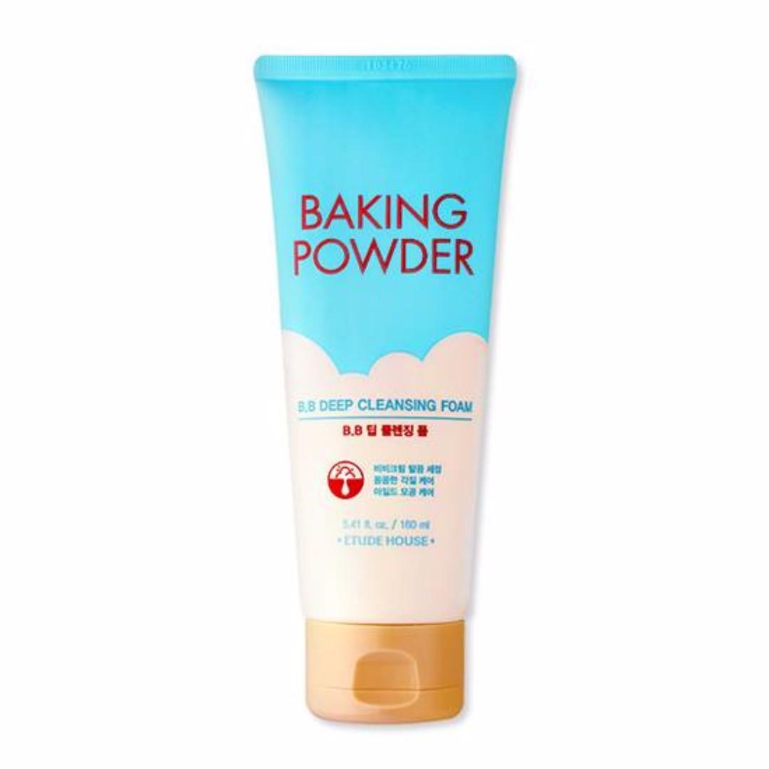 ETUDE HOUSE Baking Powder B.B Deep Cleansing Foam (160ml)