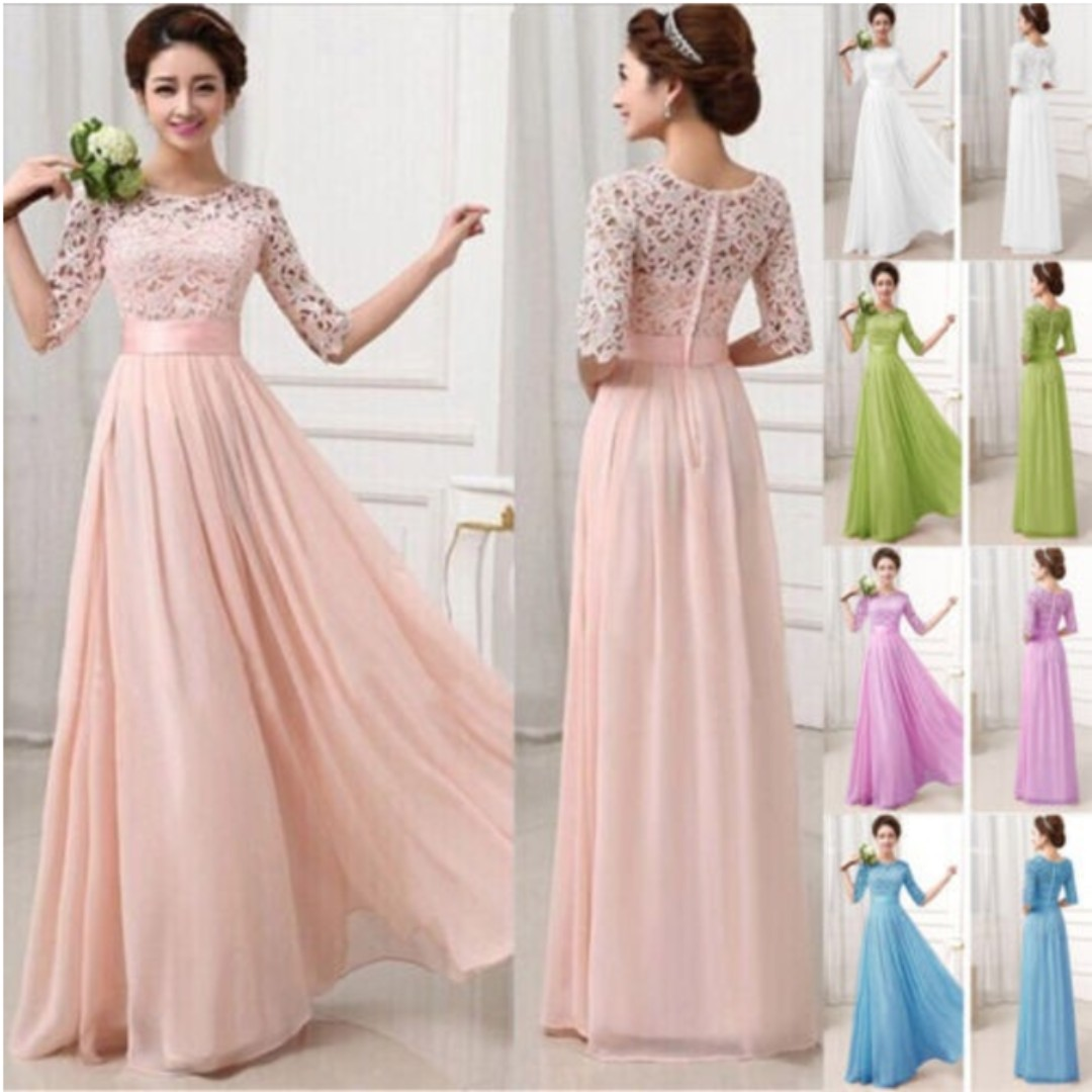 Evening Prom Gown Dress (Fixed Price & Free Delivery), Women\'s ...