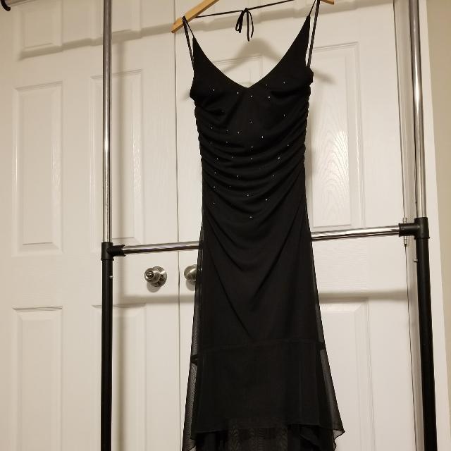 FAIRWEATHER Black Evening Dress