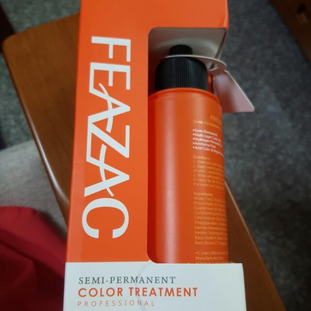 Feazac 舒科 胺基酸彩色修護染(11 甜心橙)