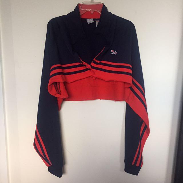 Fila Crop Sweater