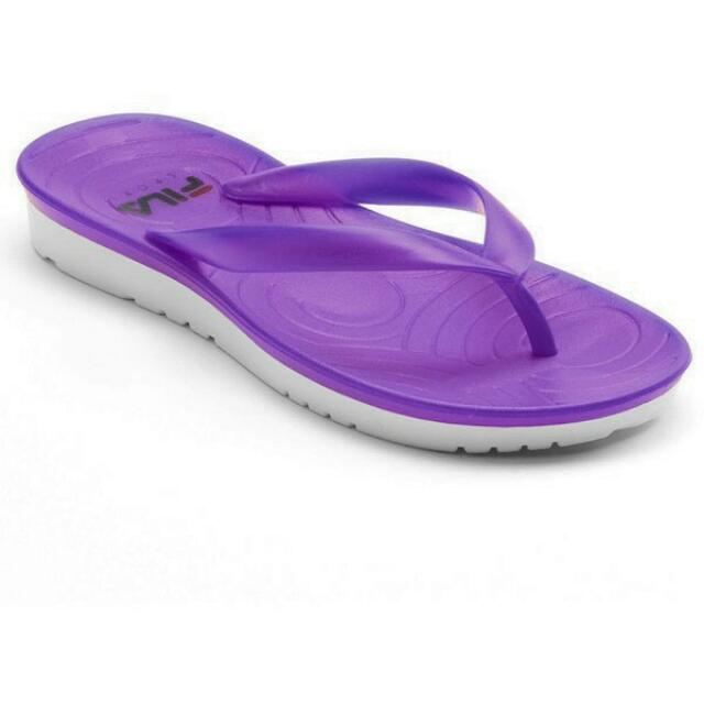 FILA SPORT Jelly Flip Flops For Women