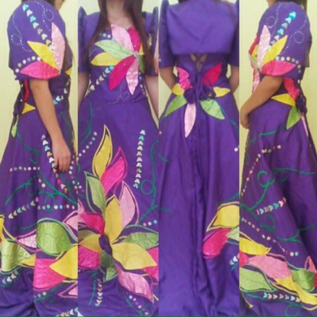 Filipiniana Gown for Rent, Women\'s Fashion, Clothes on Carousell