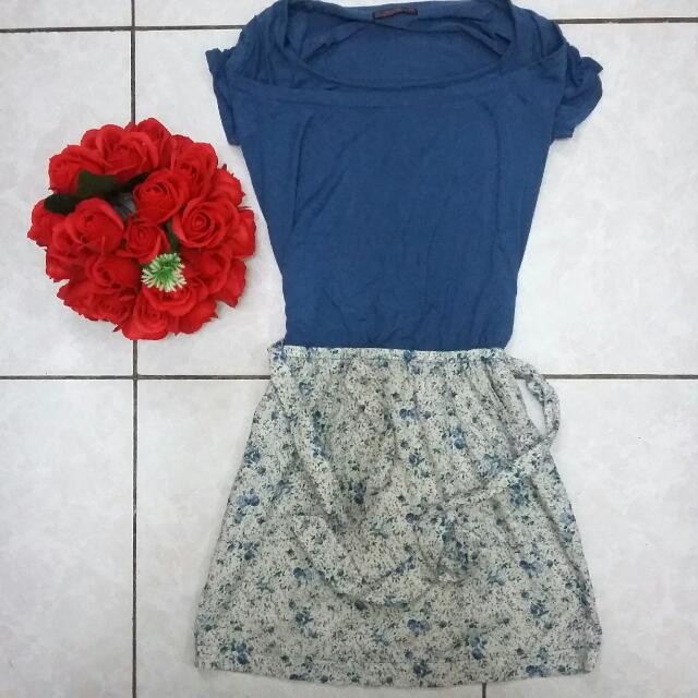 Floral Dress With Pocket