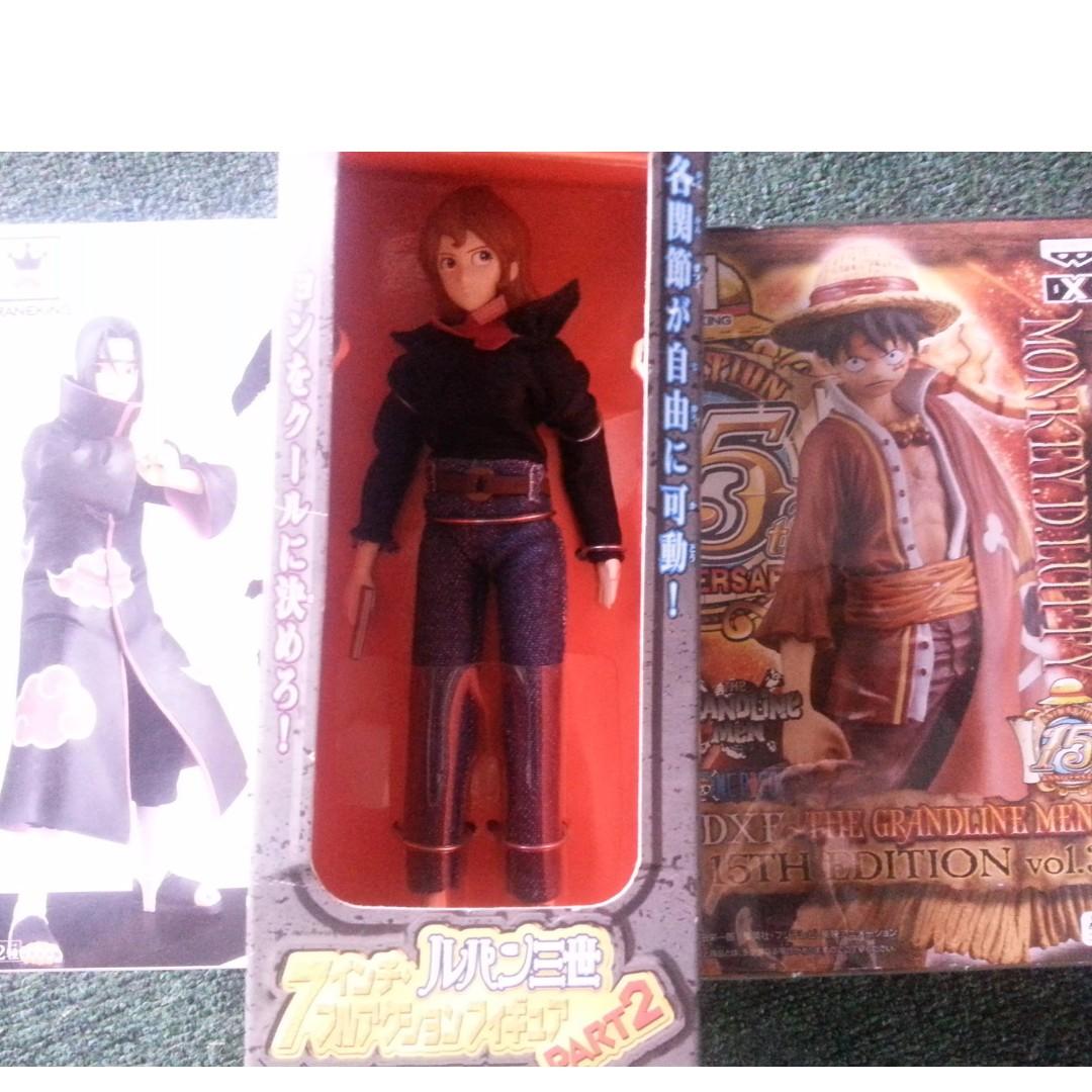 Fujiko Characters from the Lupin III manga and animes
