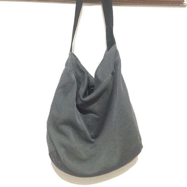 Gray Casual Bag