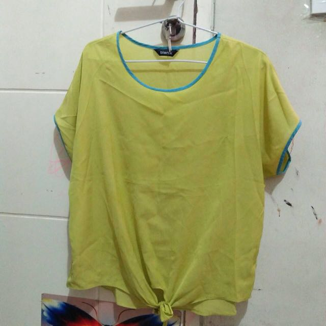 Greenlime blouse