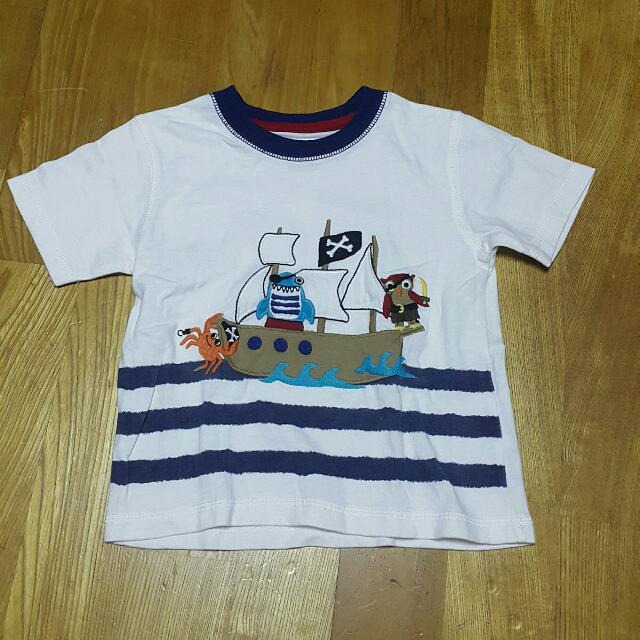 GYMBOREE海盜T恤男童短袖上衣