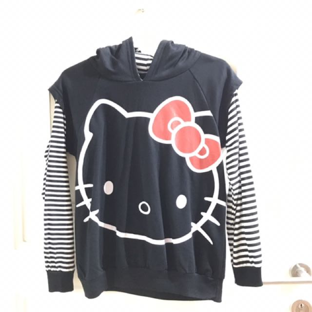 Hello Kitty Hoodie Long Sleeves