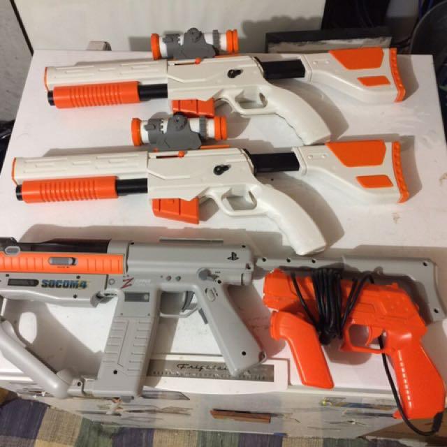 Game Console Guns