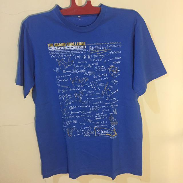 Math T-Shirt by Super - T