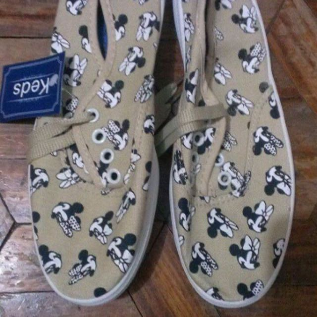 Keds Shoes- Mickey mouse design