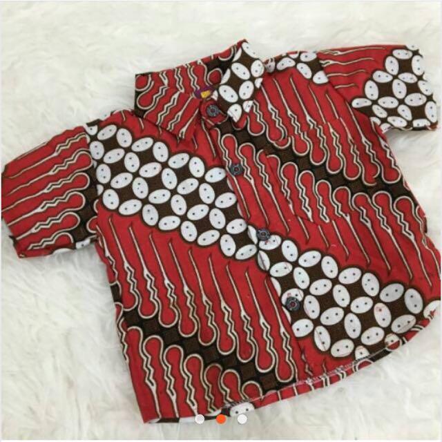Kemeja Batik Merah (new)